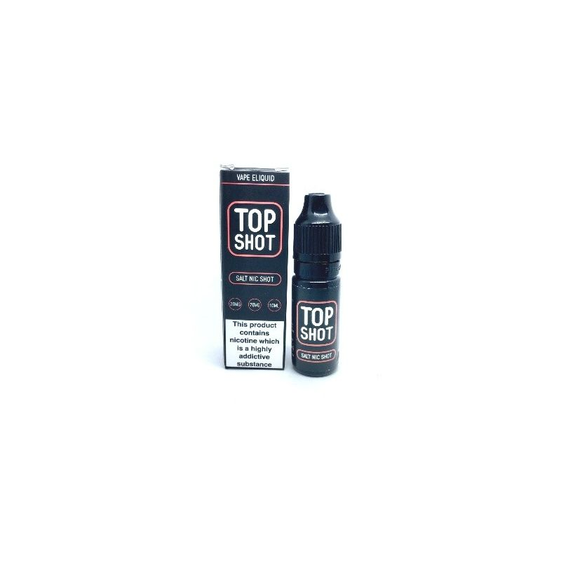 Top Shot Nicotine Salt Shot 20MG 10ML