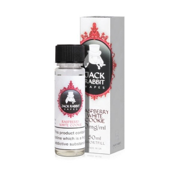 Raspberry White Chocolate by Jack Rabbit 60ML