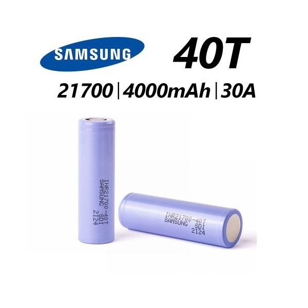 Samsung 40T 20700 Battery