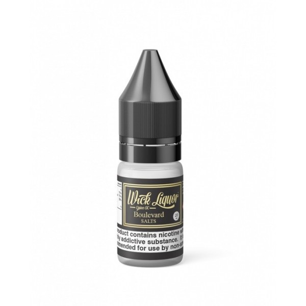 Boulevard NIC SALTS - Wick Liquor 10ml - 10MG / 20MG