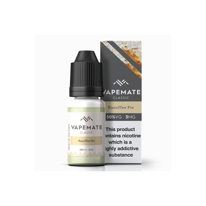 Banoffee Pie - Vape Mate 10ml