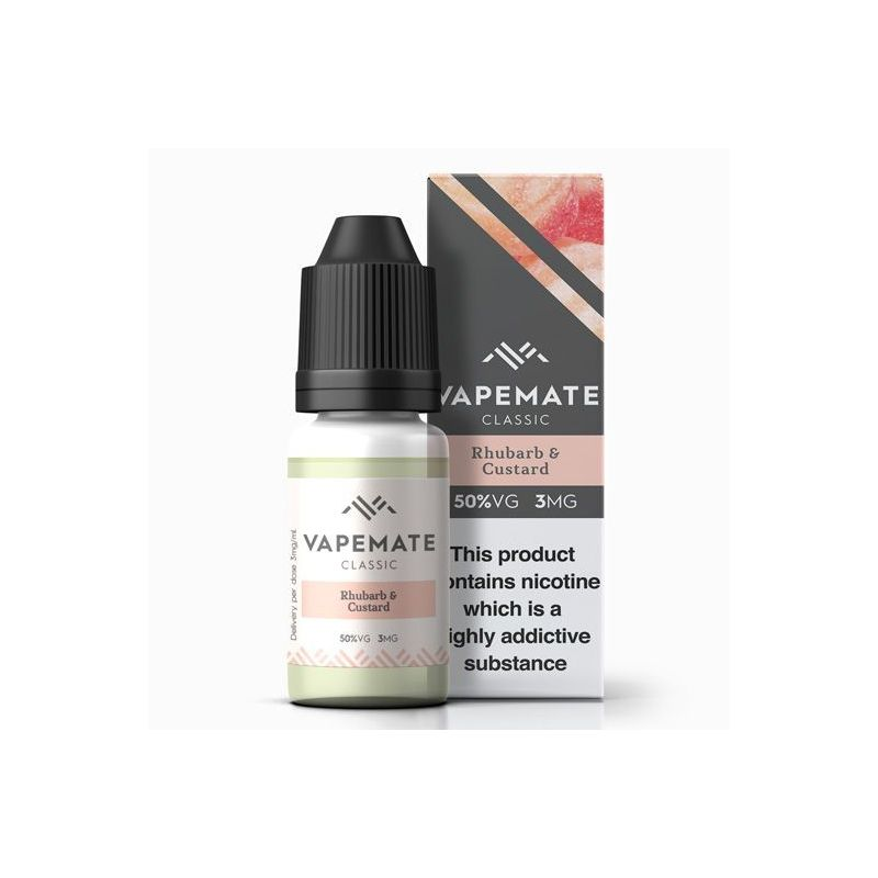 Vape Mate - Rhubarb & Custard 10ml