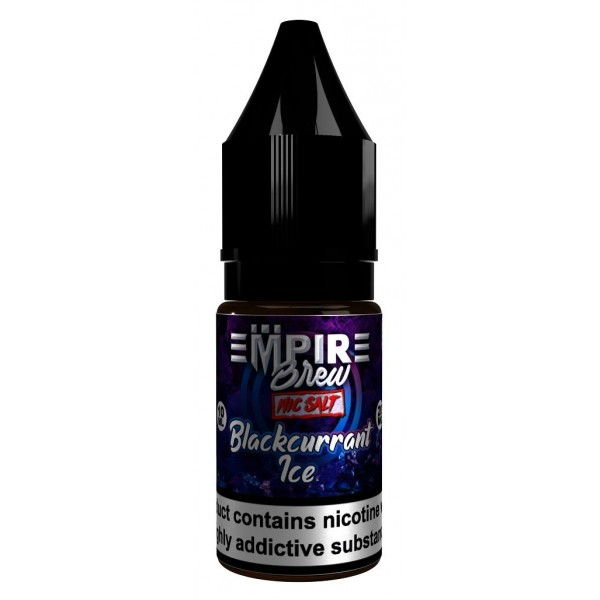 Blackcurrant Ice - Empire Brew Nic Salt