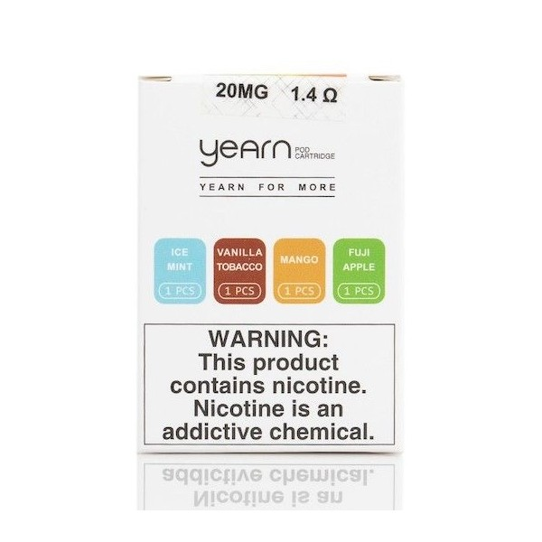 Uwell Yearn Pods - 4 Pack [1 x Each Flavour]