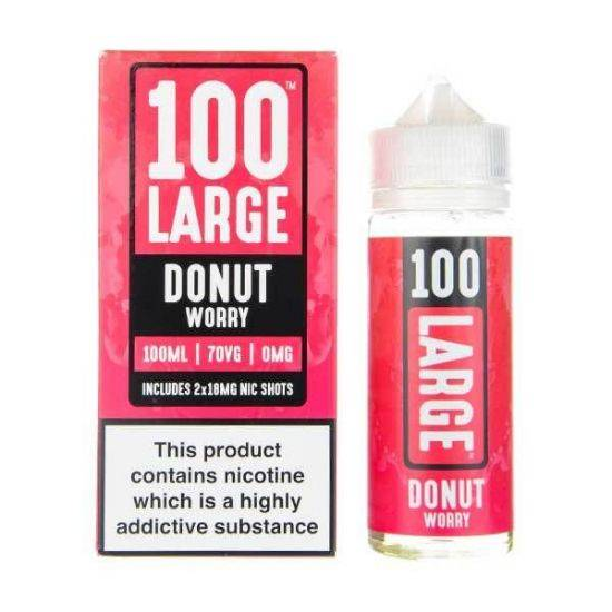 Donut Worry - 100 Large 100ml