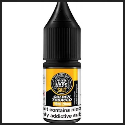 Top Vape - Nic Salt - Golden Tobacco 10ML