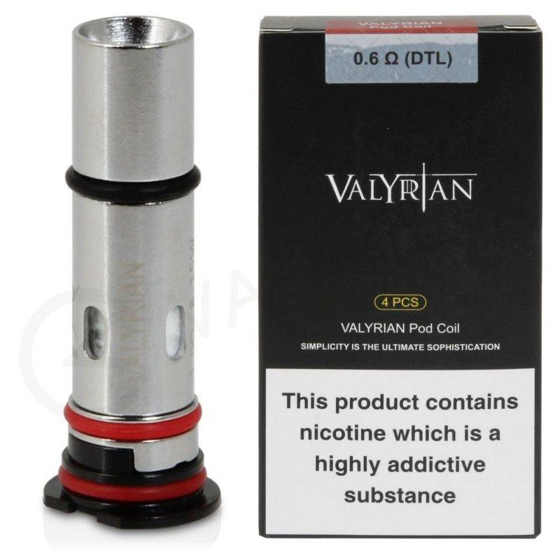 Uwell Valyrian Pod Coils - 4 Pack